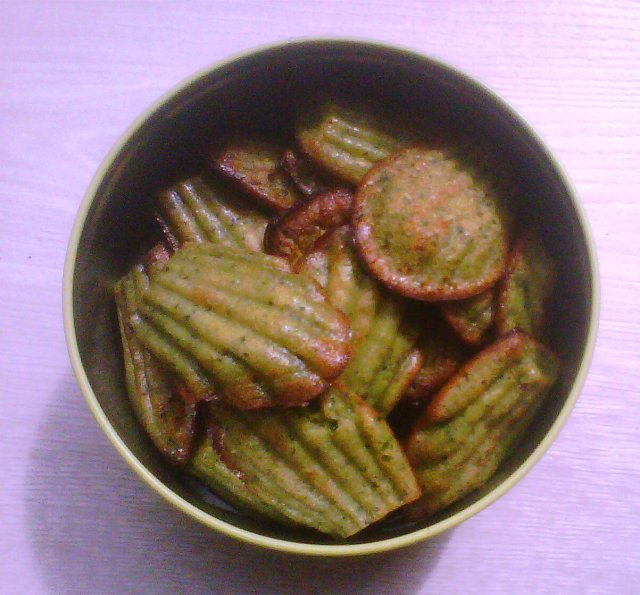madeleines courgettes