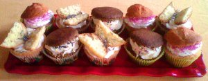 multi cupcakes