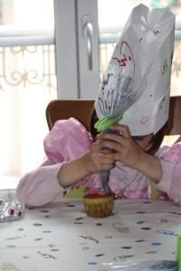 enfant cupcake